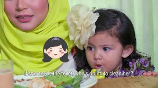The House (Musim 3) : Episod 5 - Che Ta terpaksa tinggalkan Aaisyah,siapa nak jaga Aaisyah?