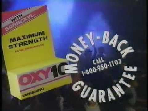 Oxy Commercial from 1992 - Oxycute Em