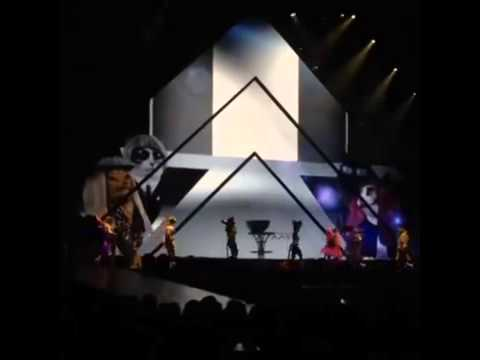 Katy Perry Vogue Cover Prismatic World Tour 2014 MADONNA