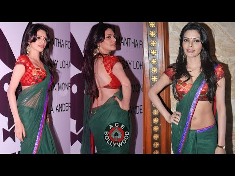 Sherlyn Chopra In Loose Choli