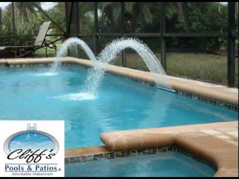 Swimming Pool Water Features Extreme Rain Arc 1 Of 3