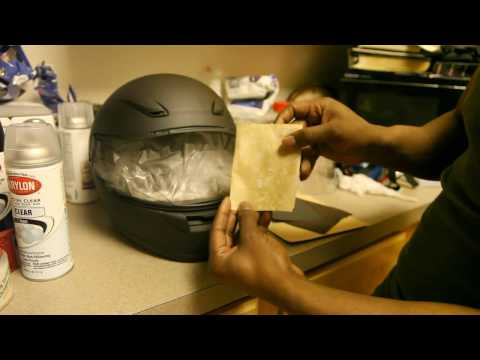 How to prep a helmet
