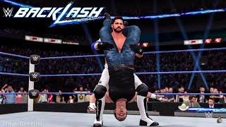 WWE 2K16 Backlash 2016 Dean Ambrose vs AJ Styles | Prediction Highlights