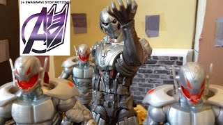 Avengers Stop Motion-[Age of Ultron] Avengers vs Ultron Pt 2 Final Battle Stop Motion