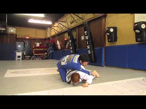 Richmond BJJ Academy - April 2013 Technique of the Month - Open Guard Passing Image 1
