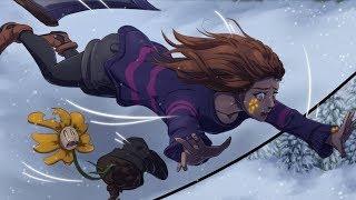 Flowerfell Part 2【 Undertale Comic Dub 】
