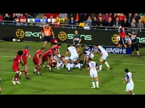 Super Rugby Video Highlights - Reds vs Blues Rd.13 2011 - Reds vs Blues Rd.13 highlights package