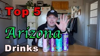Top 5 Arizona Drinks