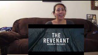 The Revenant Official Trailer Cynthia's Reaction 20th Century FOX