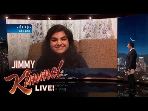 Jimmy Kimmel Interviews Brave Tobacco Shop Cashier