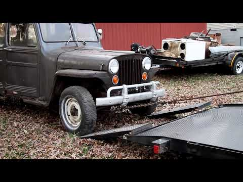 The Hanson Mechanical Show Episode Two Part Two - Pick up a 1949 Willys Jeep Wagon
