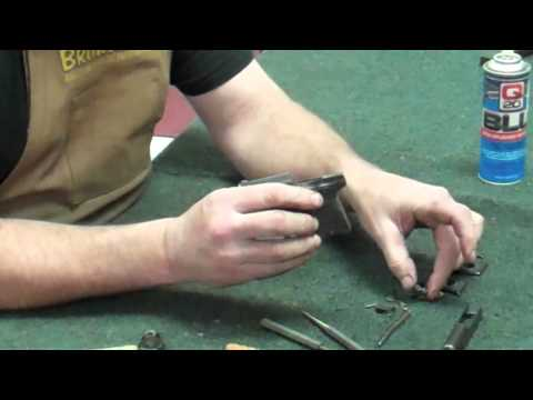 Gunsmithing Disassembly: Walther Model 9 (Gunworks)