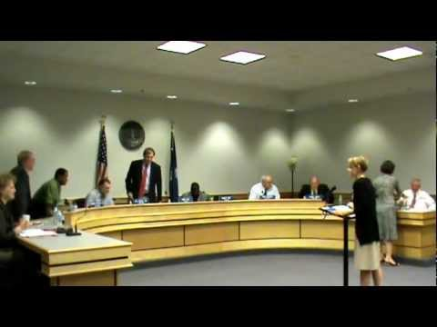 Kershaw County Council Meeting 9 25 2012