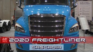 2020 Freightliner Cascadia 126 BBC With 72'' Raised Roof Sleeper - Exterior  Interior - 2019 ExpoCam
