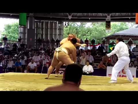 JPN VS RUS Karaev Sumo World Championships 2015