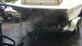 Fountain 27 Fever, Supercharged Mercury 502 MPI (ProCharger) - Dyno Run