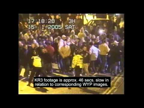 Football Hooligans Leeds Utd Fight Cardiff City