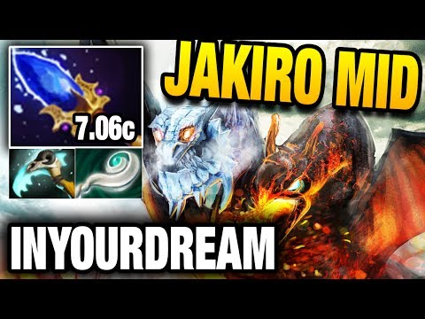 InYourdreaM Dota 2 - Jakiro Mid with Aghanim's Scepter
