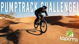 THE PUMPTRACK RACE CHALLENGE!!!
