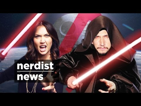 First STAR WARS 7 Sith Cast?! + MARVEL Invades NYC & WALKING DEAD: Nerdist News w/ Jessica Chobot