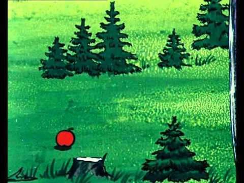 Мультфильм  про лисенка. Серия  Еловое яблоко