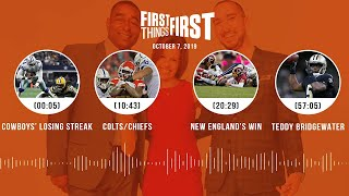 First Things First Audio Podcast (10.7.19)Cris Carter, Nick Wright, Jenna Wolfe | FIRST THINGS FIRST