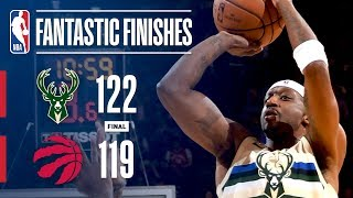 The Bucks and Raptors Engage in a Nail-Biting OT Finish in Toronto | February 23, 2018