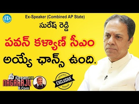 Ex-Speaker (Combined AP State) Suresh Reddy Exclusive Interview || మీ iDream Nagaraju B.Com #240