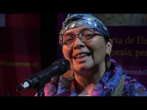 Colibrí del agua (Adriana Paredes Pinda, Nación Mapuche, Chile)
