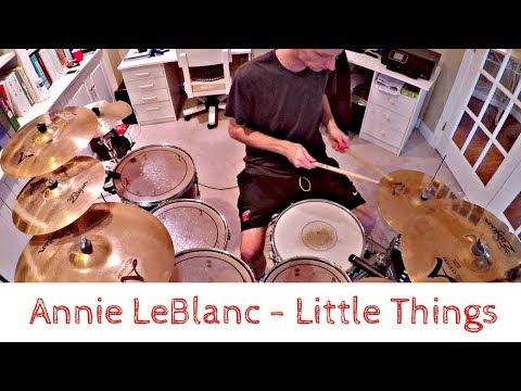 Annie Leblanc - Little Things (Drum Cover)