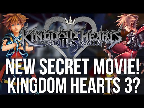 Kingdom Hearts 2.5 New Secret Movie! - Kingdom Hearts 3 or Dream Drop Distance HD?