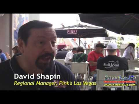 Pink's Hot Dogs at Planet Hollywood Resort & Casino: interview with Regional Manager David Shapin