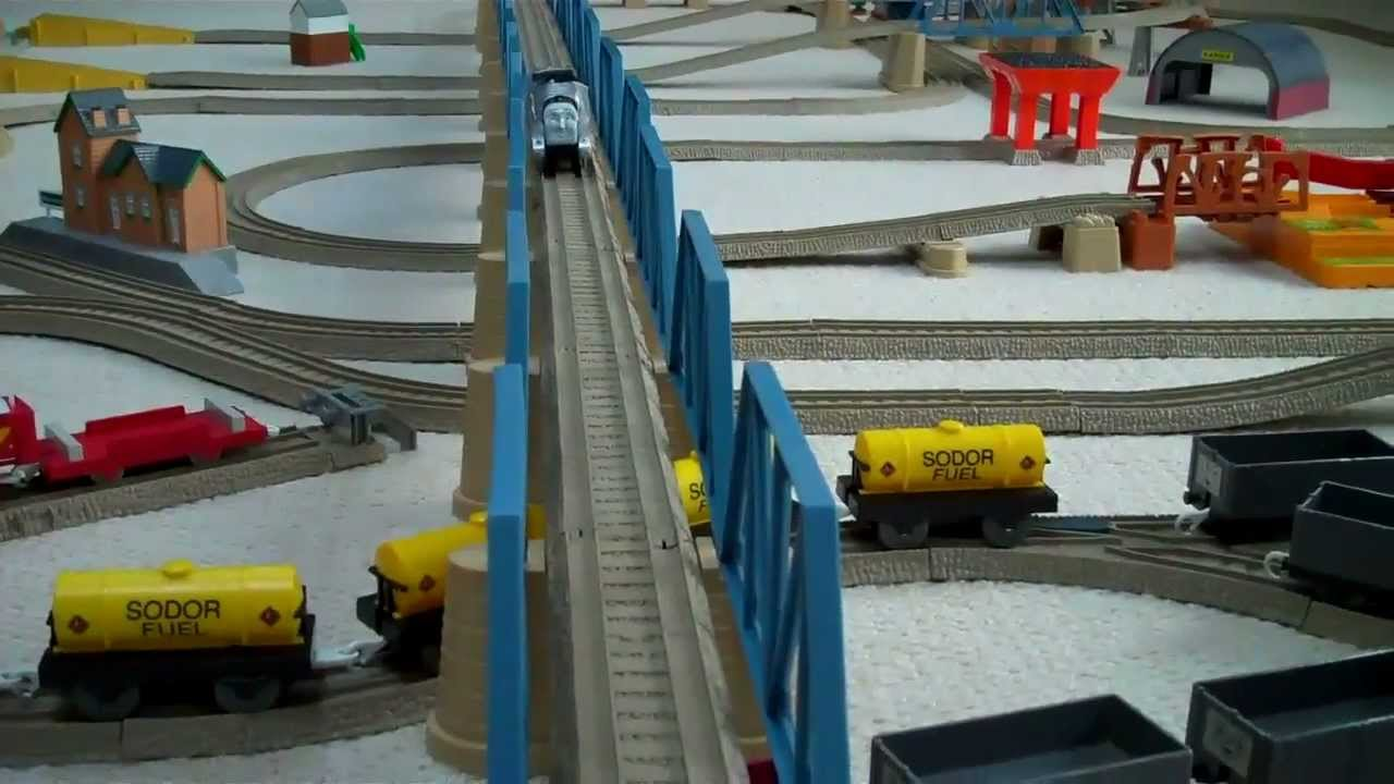 Trackmaster 3 Speed RC Thomas And Friends James Amp Spencer Remote Control Kids Toy Train Set