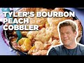 Tyler's Bourbon Peach Cobbler | Food Network