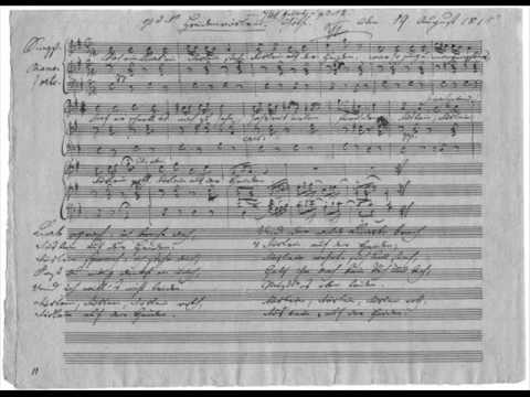 schubert lieder essay Two pages from the autograph page 2 of 33 1 schubert in 1816 if acknowledging that i am older than beethoven was when he wrote the seventh  gretchen am spinnrade, the first of his many lieder to texts by goethe 12 1815 this is often called schubert's annus mirabilis,.