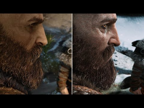 God of War: E3 2016 vs. Final Graphics Comparison