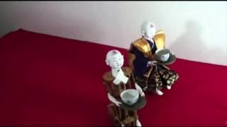 【東芝】田中久重作からくり人形 茶運び童子