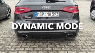 Audi RS3 8V 2015 - Exhaust Sound - Launchcontrol - RS Exhaust System