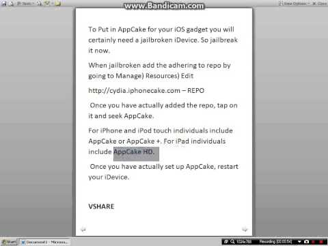 INSTALLOUS ALTERNATIVES APPCAKE AND VSHARE WORKS ON IOS 6-6.1 FREE APPS