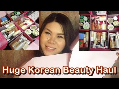 HUGE Korean Beauty Haul and Freebies + Reviews (Althea Korea Philippines Haul)