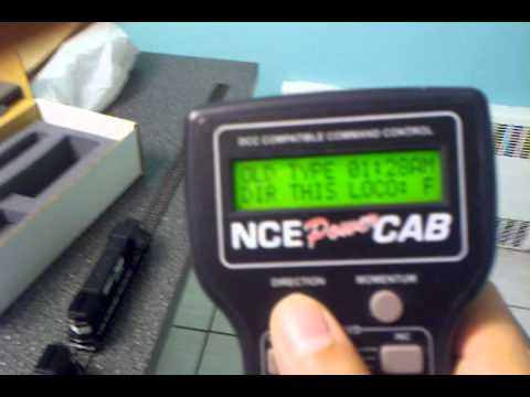 NCE Power Cab How To Consist