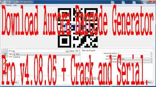 Download Aurora Barcode Generator Pro v4.08.05 + Crack and Serial free.
