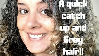 A quick vlog and Grey Hair!!