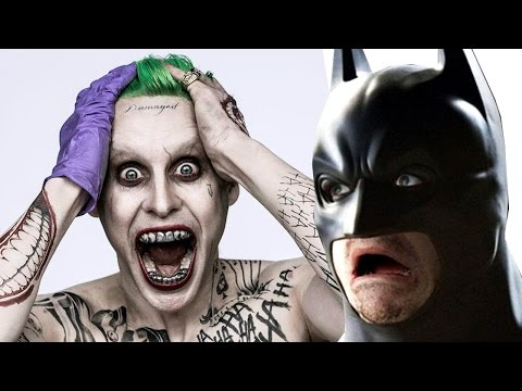 Jared Leto THE JOKER Official First Look!