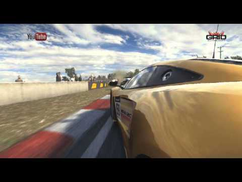 GRID Autosport RACE MOUNT PANORAMA PERFECT OVERTAKE