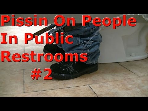 Pissing On People In Public Restrooms 2 video