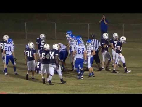 Nate Parsons #89 Johnson Ferry Christian Academy Saints 2013