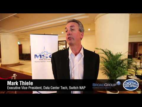 The 2nd Datacentre Summit Malaysia 2013 - Mark Thiele of Switch NAP