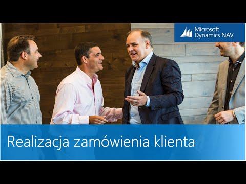Realizacja zamówienia klienta w systemie ERP Microsoft Dynamics NAV
