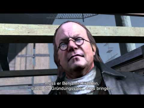 Assassin's Creed 3 -  Tyranny Of King Washington -- Offizieller Verrat Trailer [DE]